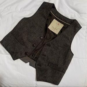 ZARA Gray Vest